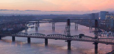 portland bridge closure