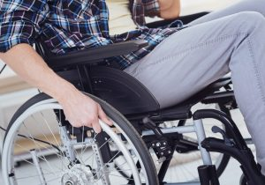portland paralyzed man